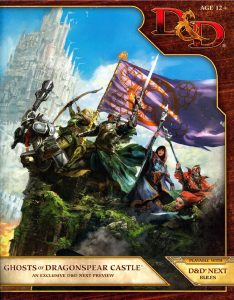 D&D Next Preview Ghosts of Dragonspear Castle Dungeons and Dragons 5th Fifth Edition Adventure Module Cover