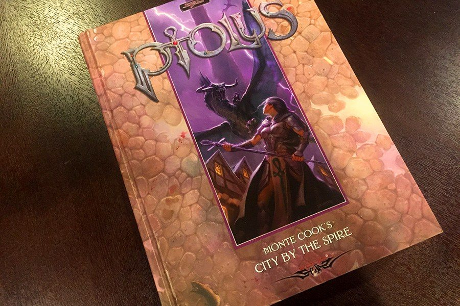 Ptolus the City by the Spire book cover author Monte Cook