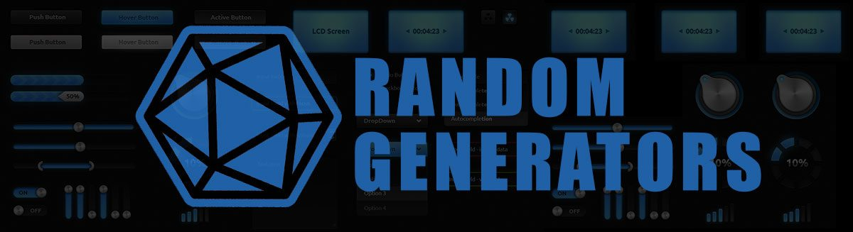 Always up to Date Guide of D20 Random Generators
