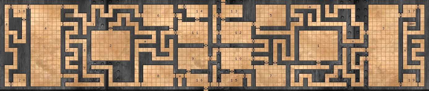 D&D Random Dungeon Generators with Monsters and Traps D20 Dungeons and Dragons 3.0 3.5 4th 5th Edition 4E 5E DND Pathfinder Dungeons Creator