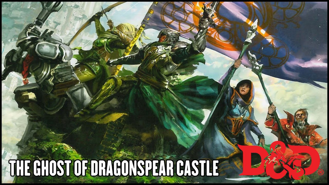Ghosts of Dragonspear Castle 5E Dungeons and Dragons Adventure Module 5th Edition Wizards of the Coast Daggerford Forgotten Realms Sword Coast