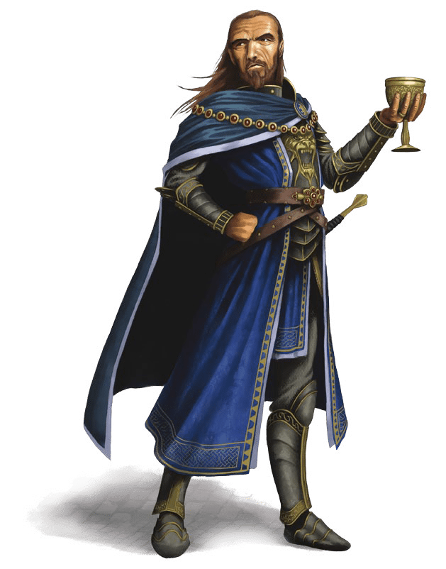 Governor Tarbaw Nighthill runs Greenest human male sixty years Hoard of the Dragon Queen Adventure Module for Dungeons and Dragons D&D DND 5th Edition 5E