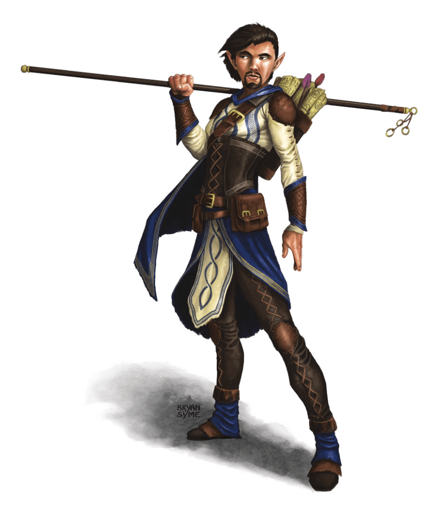 Leosin Erlanthar wandering monk in Greenest human male Hoard of the Dragon Queen Adventure Module for Dungeons and Dragons D&D DND 5th Edition 5E