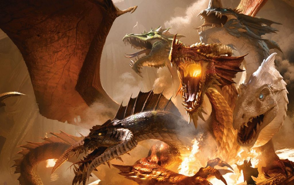 Tiamat Hoard of the Dragon Queen Adventure Module for Dungeons and Dragons D&D DND 5th Edition 5E