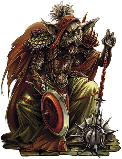 Wyrmlord Koth Portrait Drellin's Ferry Red Hand of Doom Dungeons and Dragons Adventure Module 3.0 3.5 Pathfinder