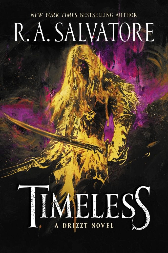 Timeless a Drizzt Novel by R. A. Salvatore Book 1 in Drizzt Generations Trilogy Cover
